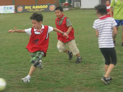 三年级学生第一次活动照片