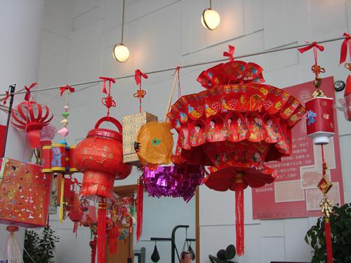 元宵节灯笼 - 内容 - 徐汇区第一中心小学教育信息网