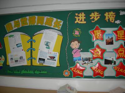 6年级班级黑板报设计图案大全展示图片
