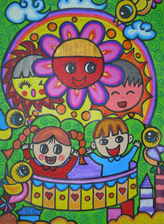小学艺术节绘画作品_小学电脑绘画获奖作品,小学绘画获奖作品,小学获奖美术绘画作品